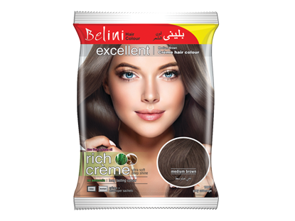 Picture of Belini Sachet Medium Brown