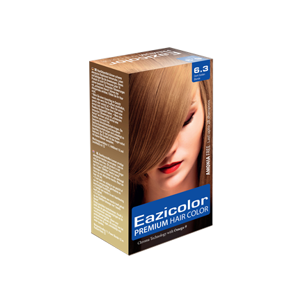 Picture of EaziColor Women Kit 6.3 Dark Golden Blond 60ML