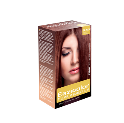 Picture of EaziColor Women Kit 5.43 L.Copper Golden Brown 60ML