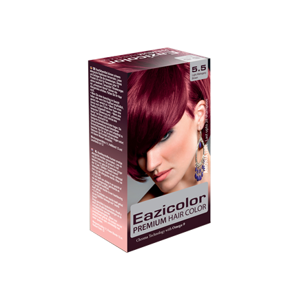 Picture of EaziColor Women Kit 5.5 Light Mahogany Brown 60ML
