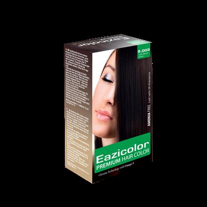 Picture of EaziColor Women Kit 5.003 Light Mocha Brown 60ML