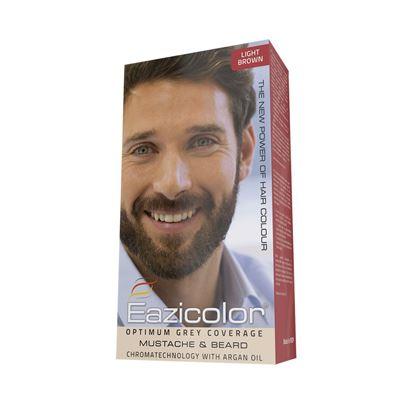 Picture of Eazicolor For Men Mustache & Beard  Light Brown (5.0)