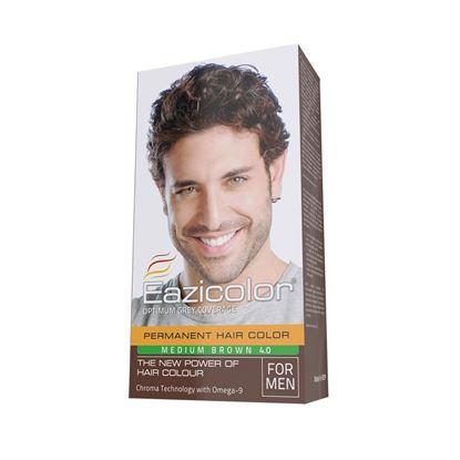 Picture of EaziColor Men Kit Head Medium Brown (4.0)