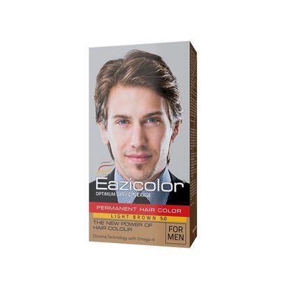 Picture of EaziColor Men Kit Head Light Brown (5.0)