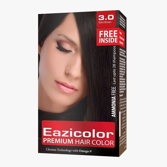 Picture of EaziColor Women Kit pack  Dark Brown (3.0)